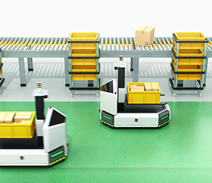 Automated guided vehicles improve production